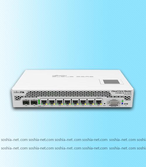 روتر CCR1009-7G-1C-1S+PC_سوشیانت