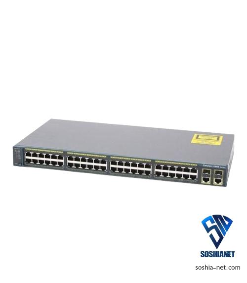 سوئیچ WS-C2960-48TCL سیسکو