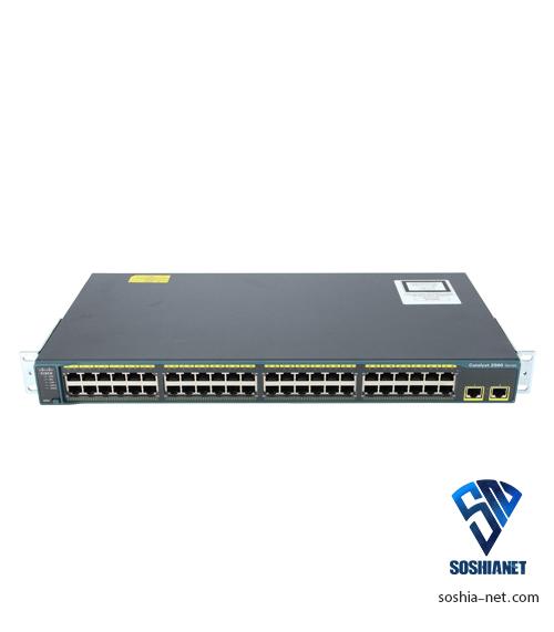 سوئیچ WS-C2960-48TTL سیسکو