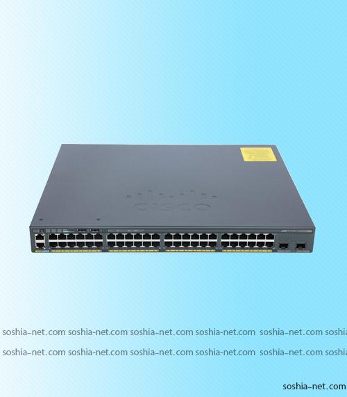 سوئیچ WS-C2960X-48LPDL سیسکو